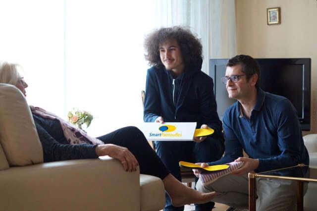 SmartPantoufles pantoufles connectées
